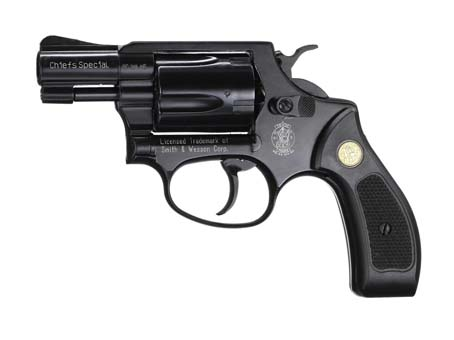 Smith & Wesson Chief Special černý, plast cal: 9mm R Knall