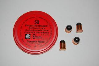 Flobert 9mm.Dynamit Nobel kulička
