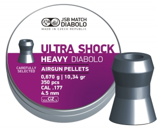 Diabolo JSB Ultra Shock Heavy 350ks cal.4,52mm