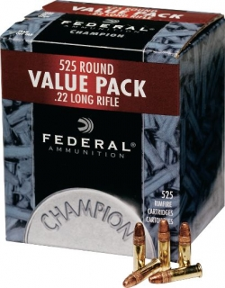 22 LR FEDERAL CHAMPION  HV 525ks