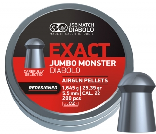 JSB Exact Jumbo Monster Redesigned cal.5,52mm